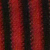 rayas negras rojas